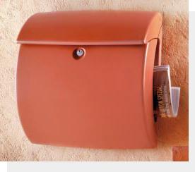 バーグベヒターメールボックス キール テラオレンジ タカショー